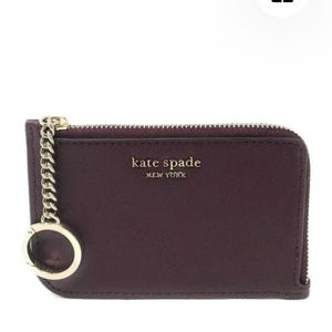 New Kate spade cameron medium l-zip card holder